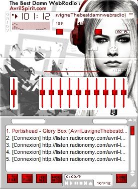 Ecoutez la webradio sur winamp avec les skins winamp. Skin1